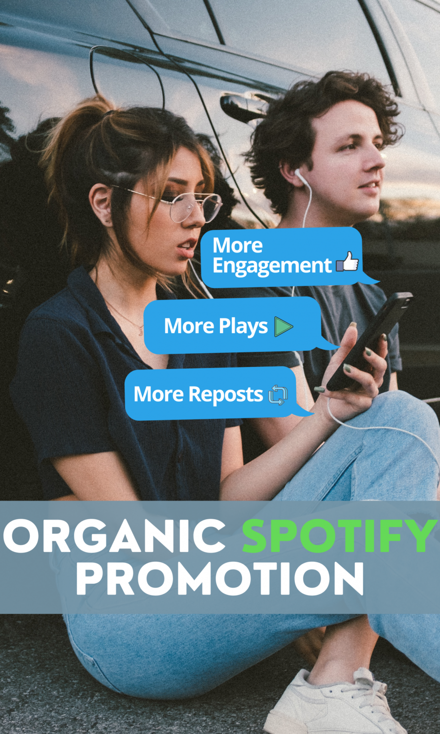 Organic Spotify Promotion Services